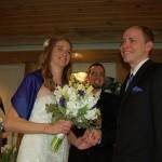 Presenting husband & wife