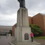 Washington statue at UW